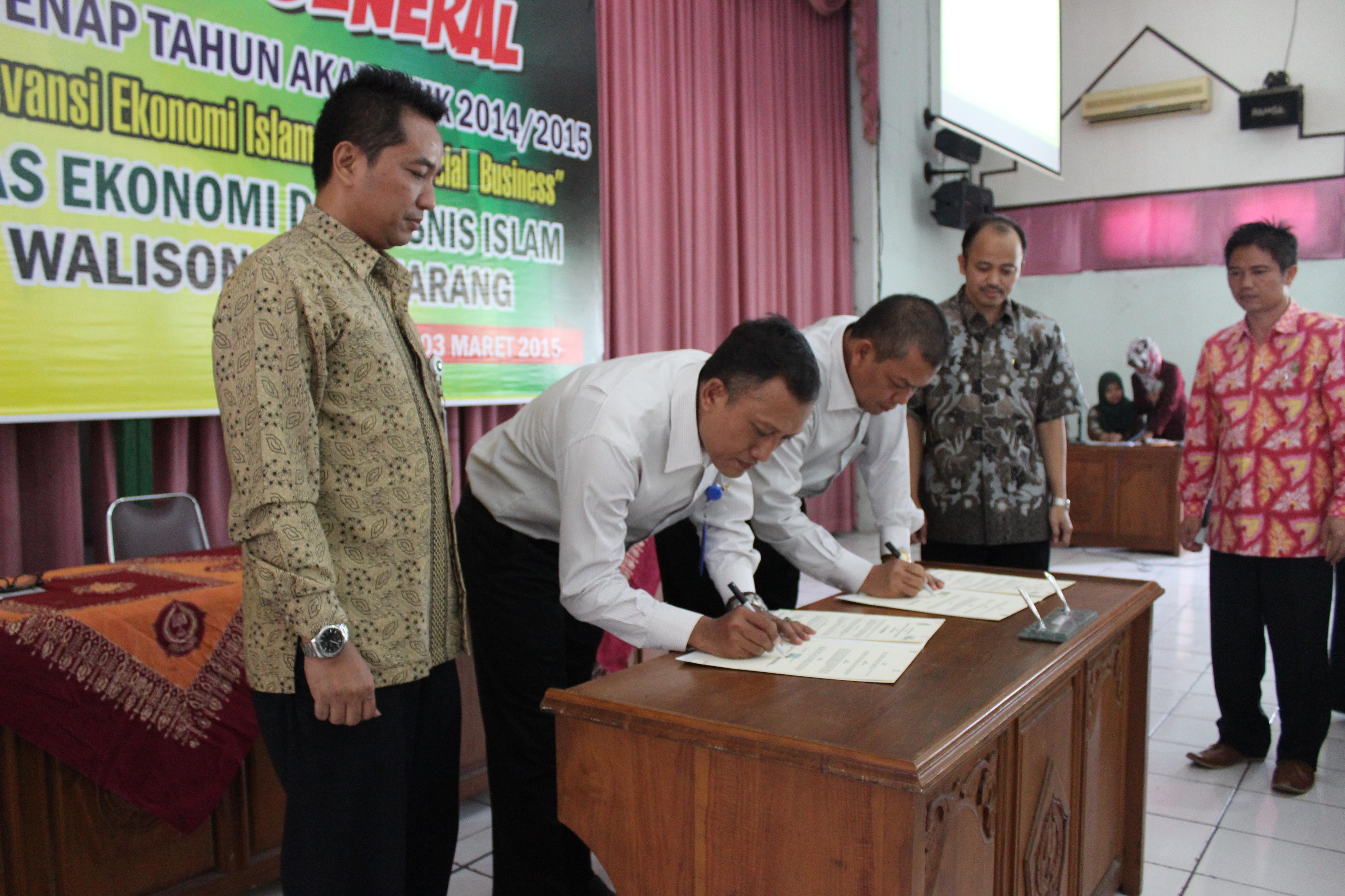 FEBI Walisongo MoU dengan BPRS dan BMT Jawa Tengah