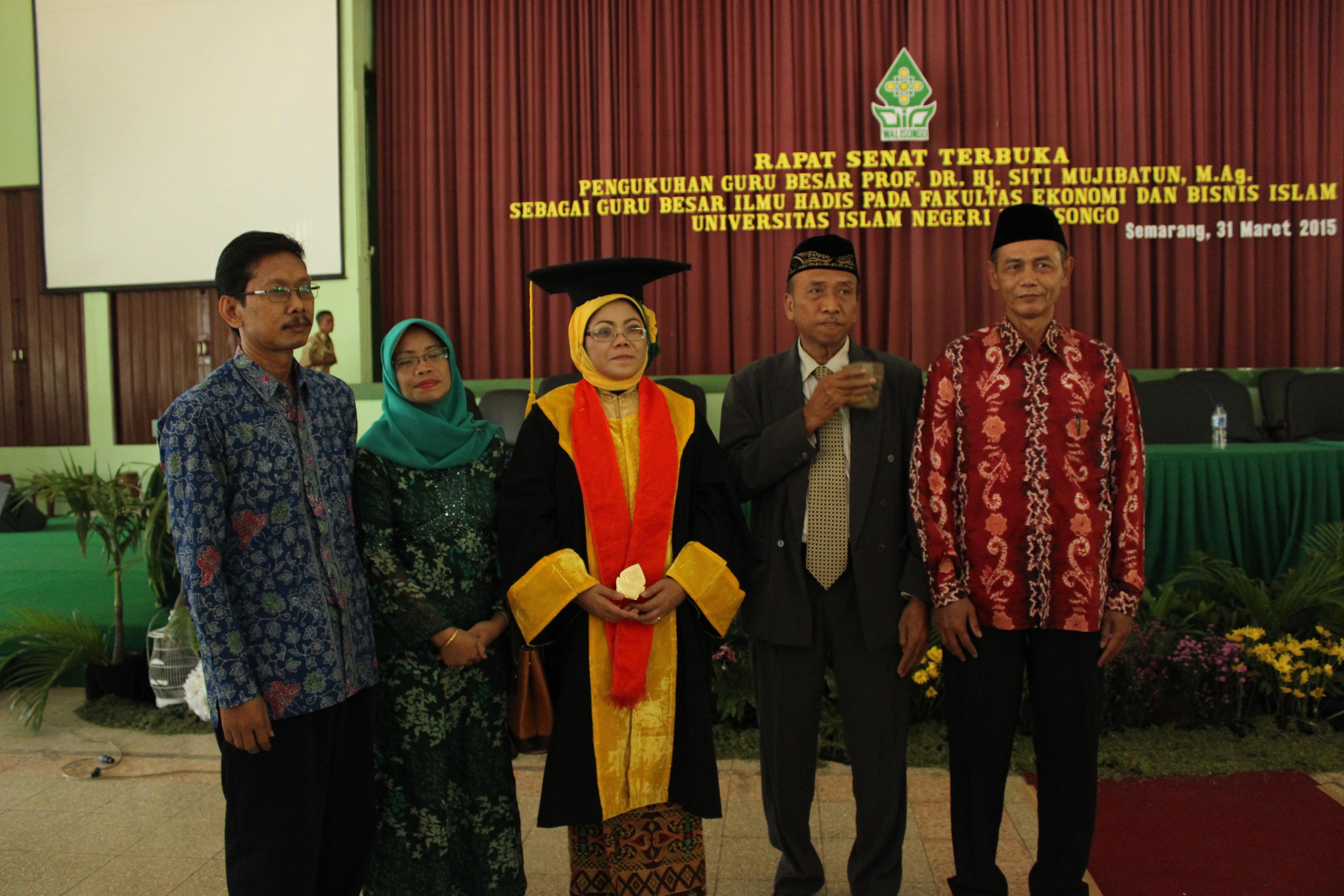 Siti Mujibatun, Mantan TKW Jadi Guru Besar UIN Walisongo Semarang