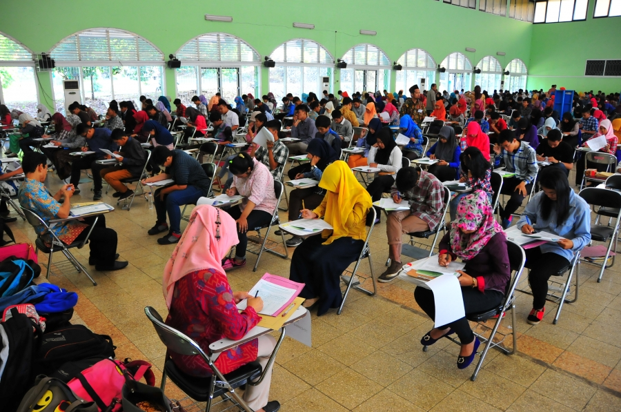 4392 peserta SBMPTN Ujian di UIN Walisongo
