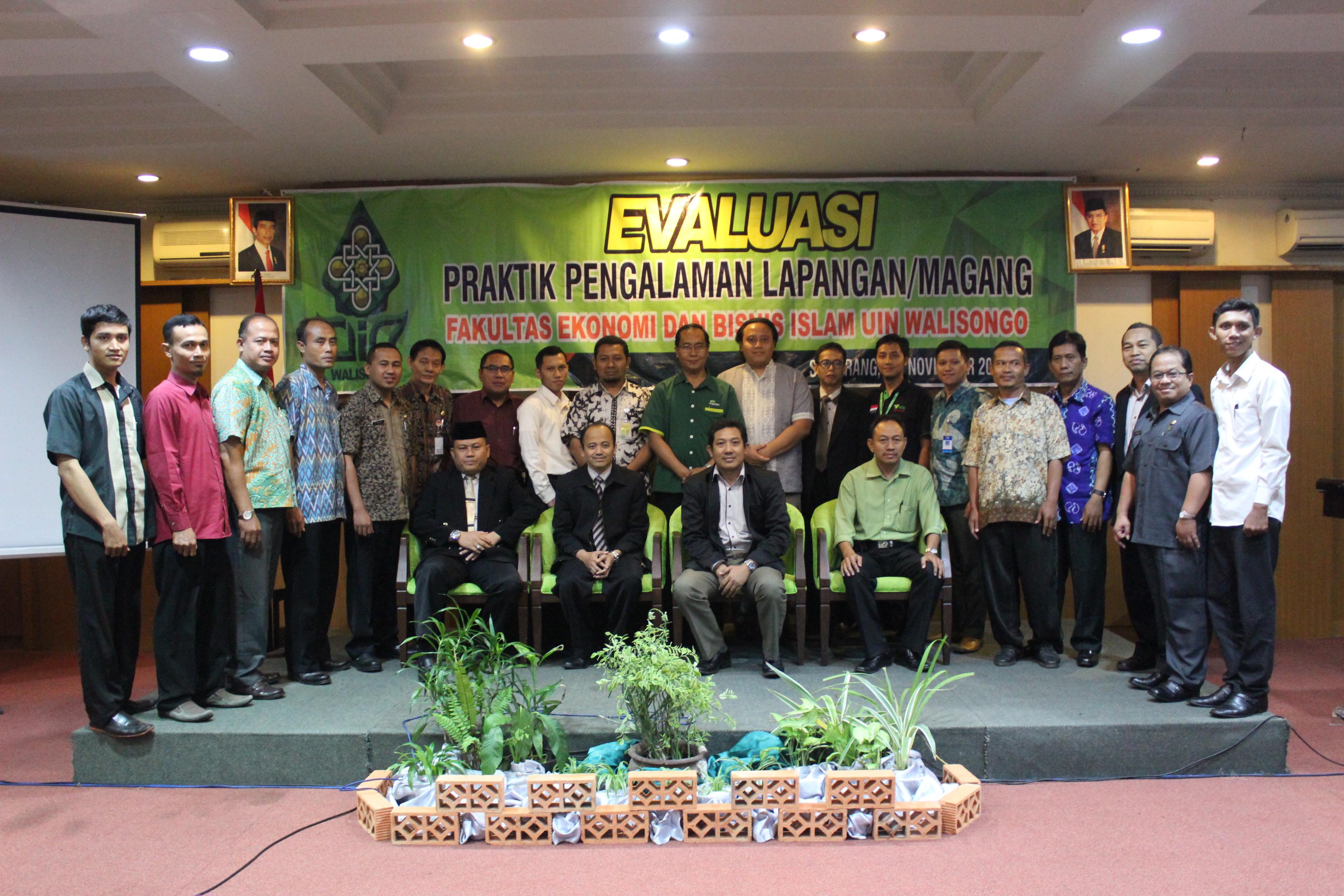 Fakultas Ekonomi Dan Bisnis Islam Melaksanakan Kegiatan Evaluasi PPL / Magang Dengan Lembaga/ Mitra Kerja
