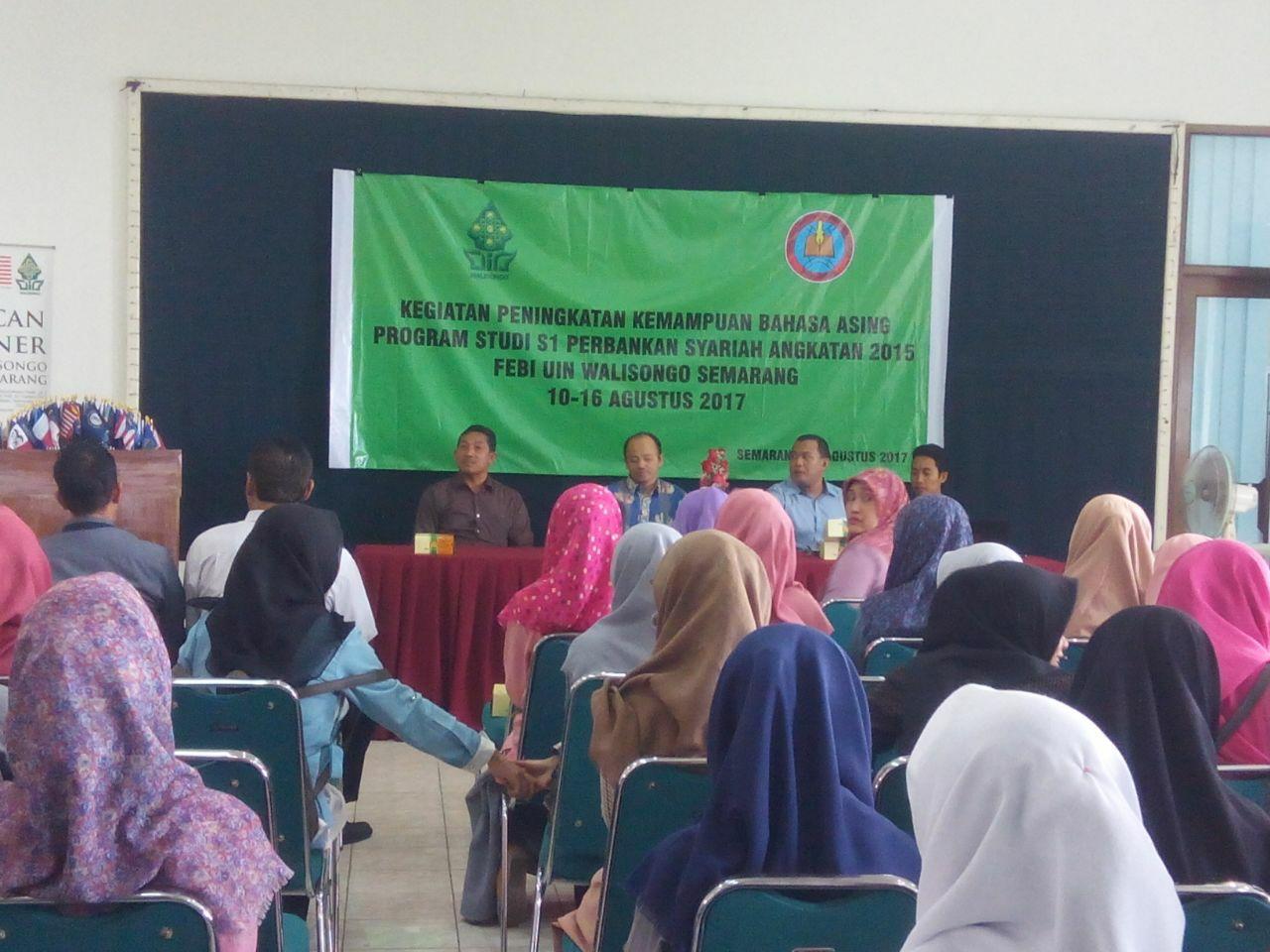 Peningkatan Kemampuan Bahasa Asing Program Studi  S1 Perbankan Syariah 2017