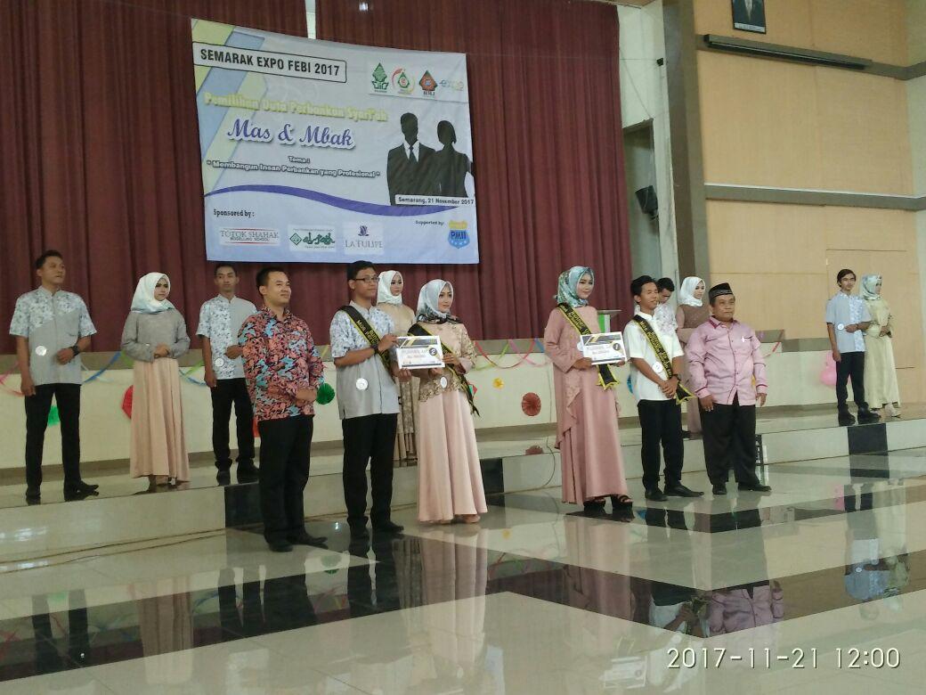 Pemilihan Mbak Dan Mas Perbankan Syariah UIN Walisongo Semarang Tahun 2017