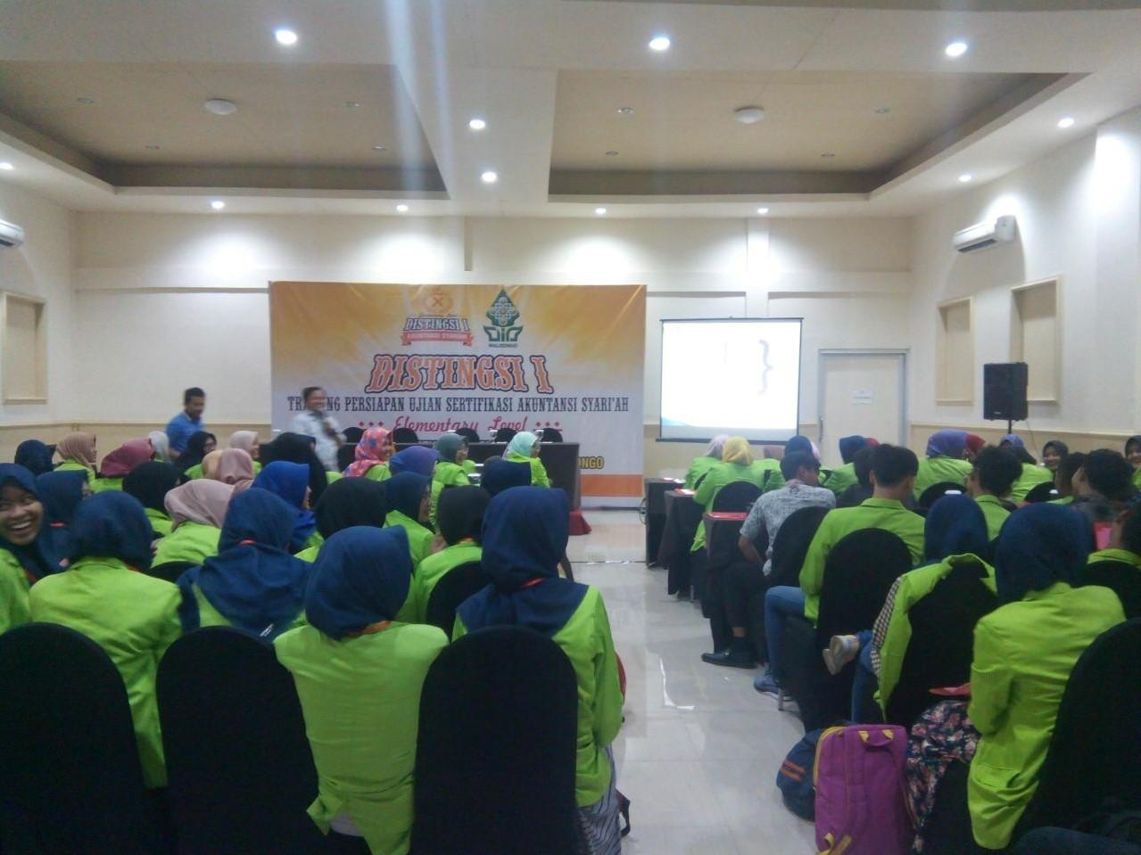Prodi Akuntansi Syariah lengkapi Kompetensi Penunjang Dengan  Dua Sertifikasi