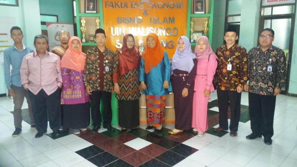 FEBI UIN Walisongo Semarang Menerima Kunjungan Studi Banding Dari FEBI IAIN Bengkulu