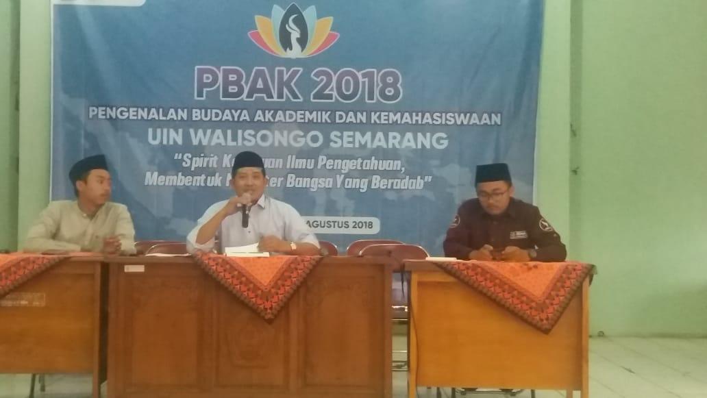 514 Mahasiswa Baru Fakultas Ekonomi Dan Bisnis islam Ikuti PBAK 2018