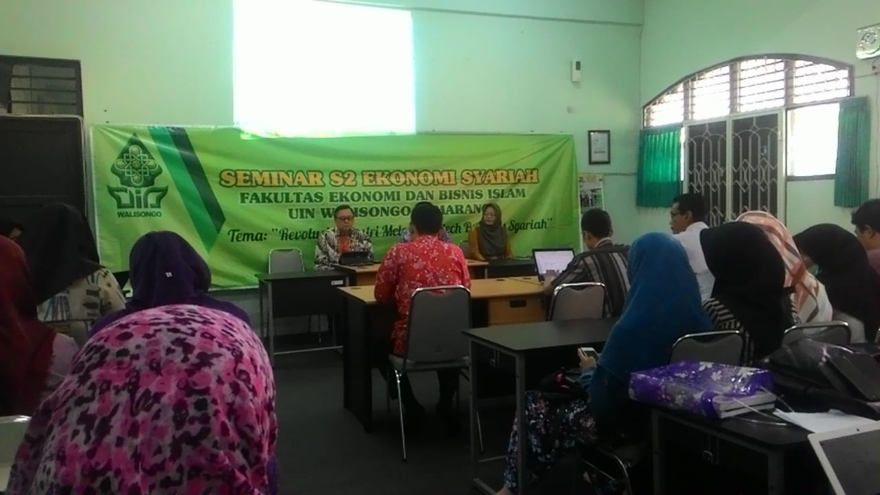 Prodi S2 Mengundang Head Of Digital Financial And Micro Finance Dalam Seminar Nasional