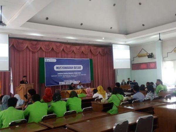 MUBES: Optimalisasi Lembaga Kemahasiswaan FEBI untuk Kemajuan Peradaban