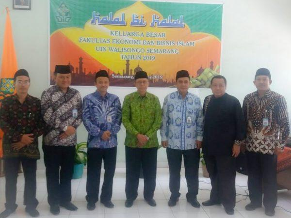 Fakultas Ekonomi dan Bisnis Islam Gelar Halal Bihalal
