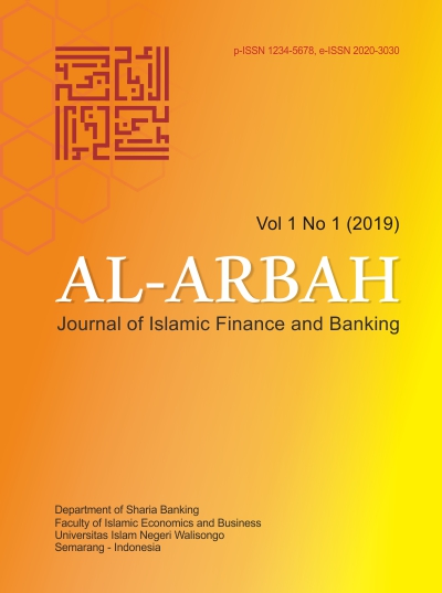 AL-ARBAH: Journal of Islamic Finance and Banking