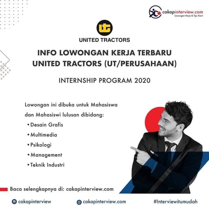 Lowongan United Tractors