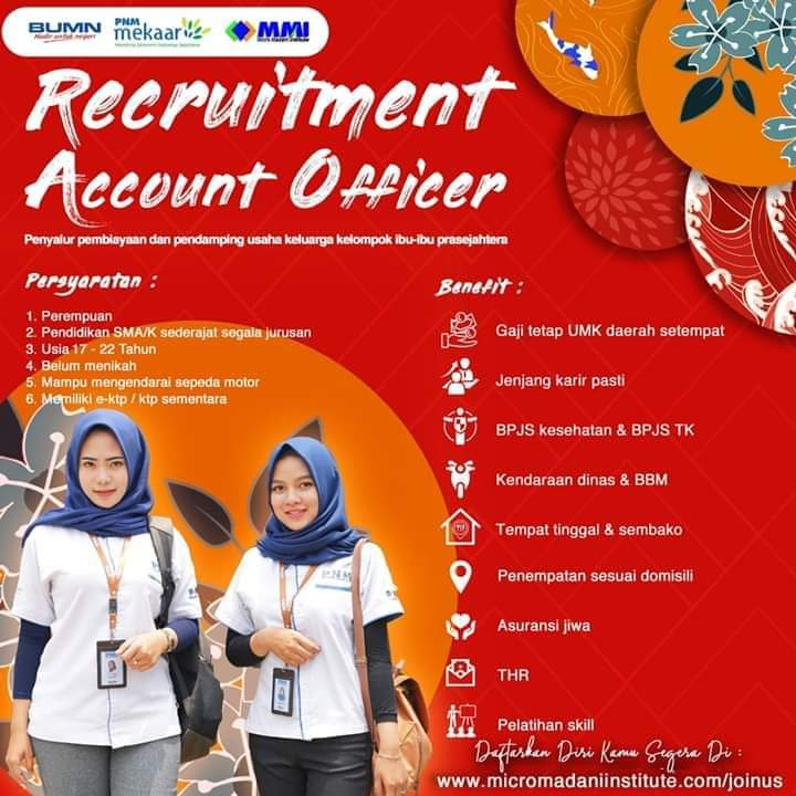 Lowongan Account Officer PNM