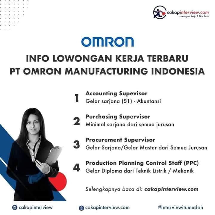 Lowongan Accounting Omron