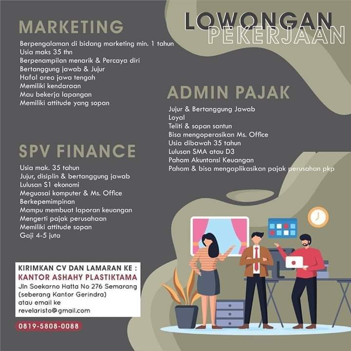 Loker staff finance