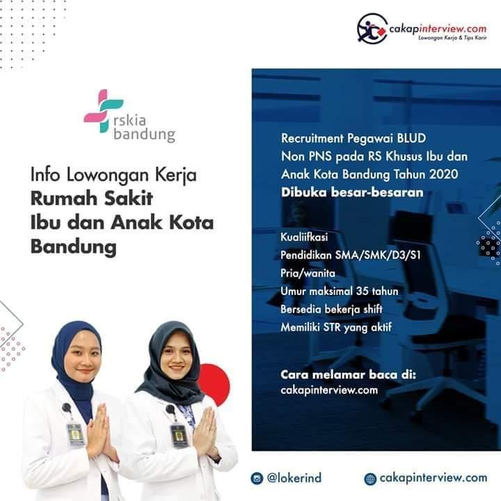 Loker Di BLUD Bandung