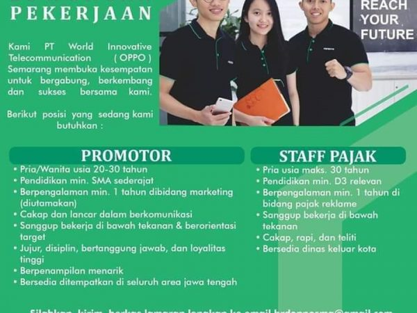 Loker jurusan akuntansi staff pajak