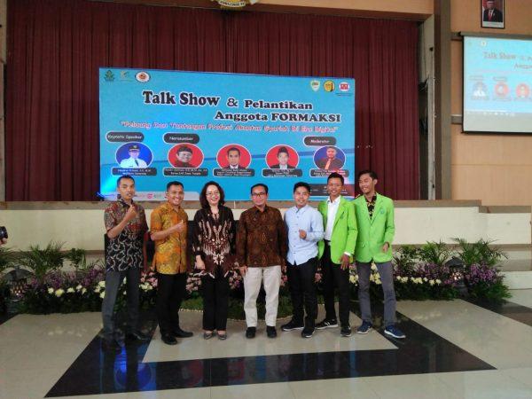 """HMJ Akuntansi Syariah Adakan Talk Show """" Peluang dan Tantangan Profesi Akuntan Syariah Di Era Digital"""