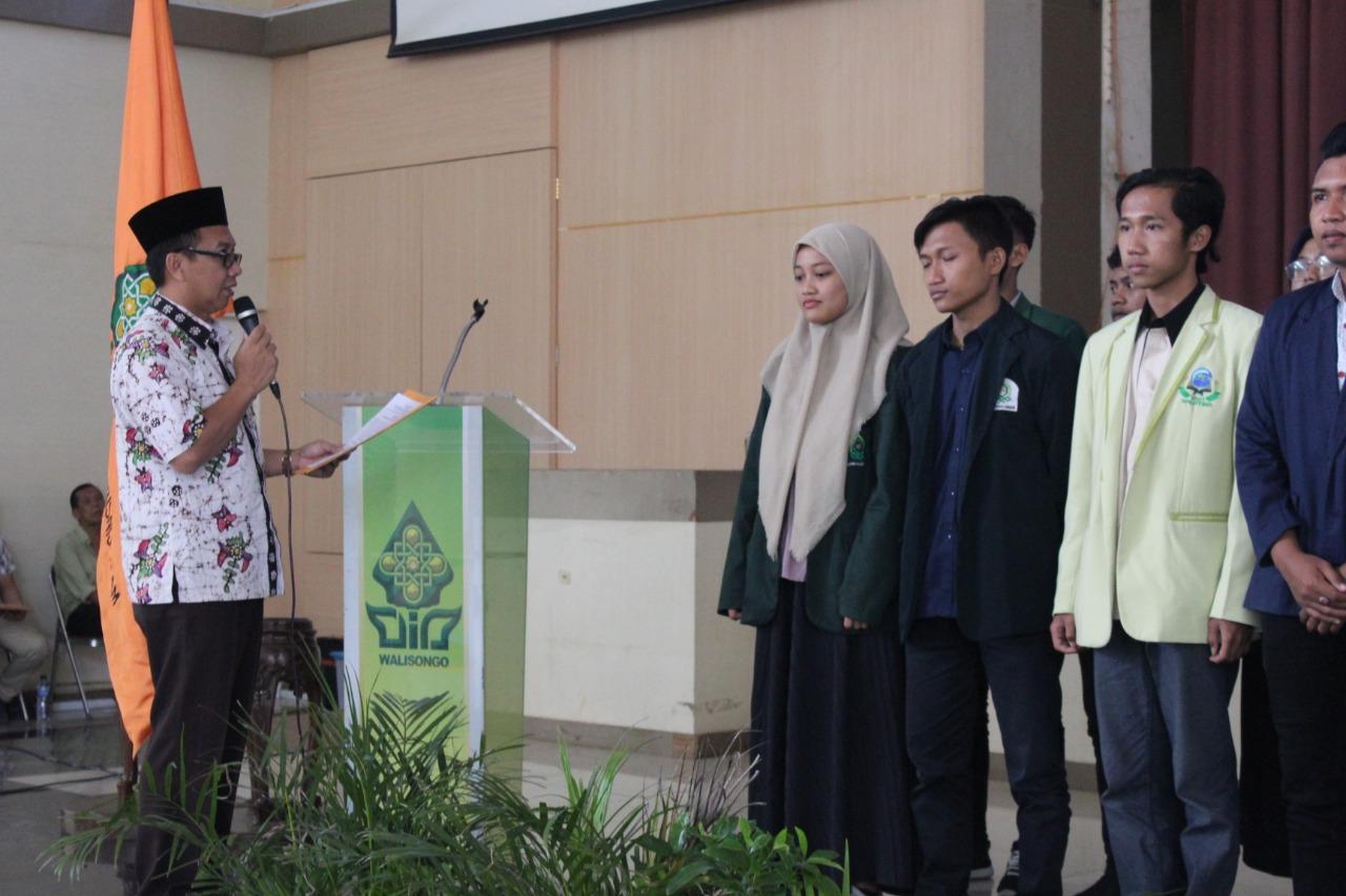 Mahasiswa Akuntansi Syariah FEBI UIN Walisongo Dilantik menjadi  Presiden Nasional Forum Mahasiswa Akuntansi Syariah Se Indonesia.