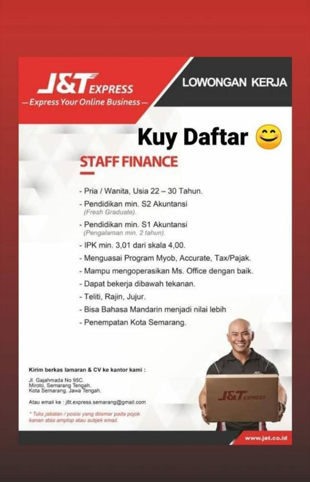 Karir Akuntansi staff finance