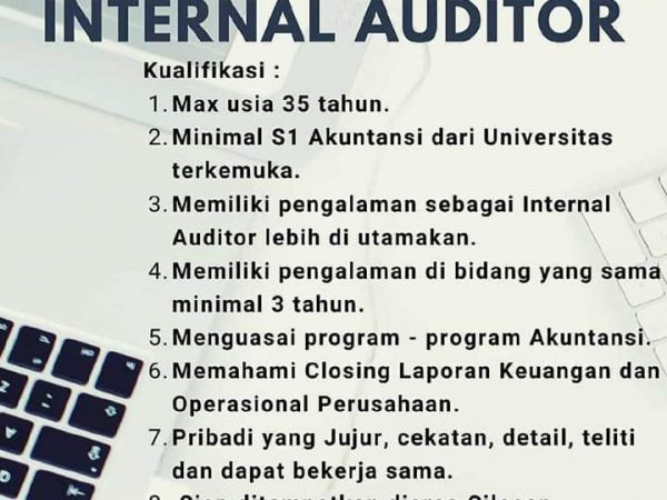 Karir Akuntansi - Internal Auditor