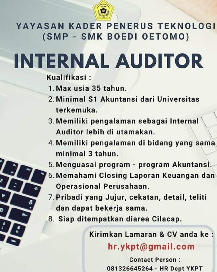 Karir Akuntansi - Internal Auditor