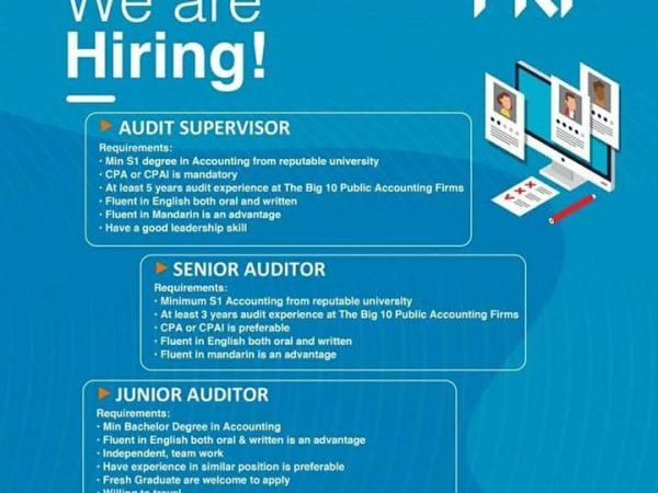 Karir Akuntansi - Auditor