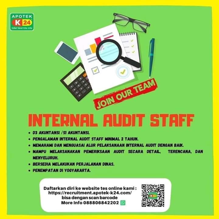 Karir Akuntansi - Apotik K 24