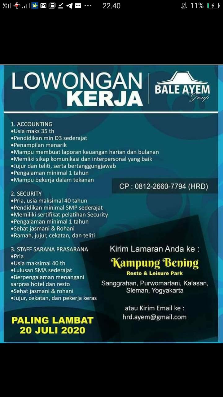 Karir Akuntansi - accounting bale ayem group