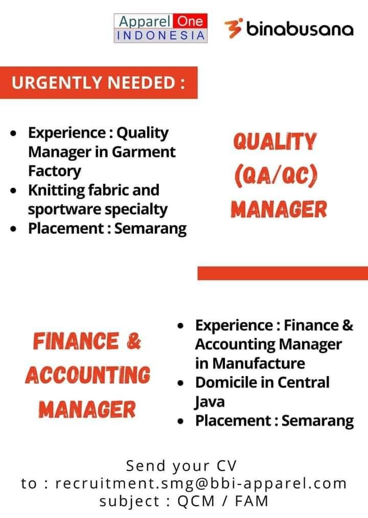 Karir Akuntansi - Accounting Manajer
