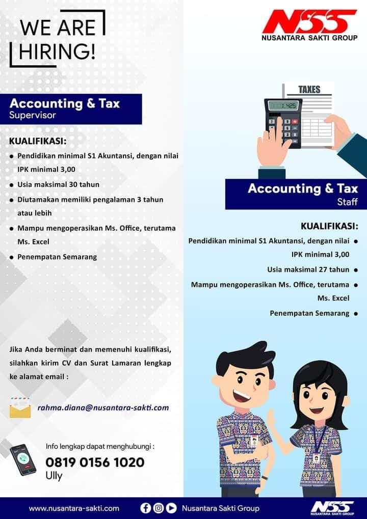 Karir Akuntansi - Accounting Nusantara Sakti Group