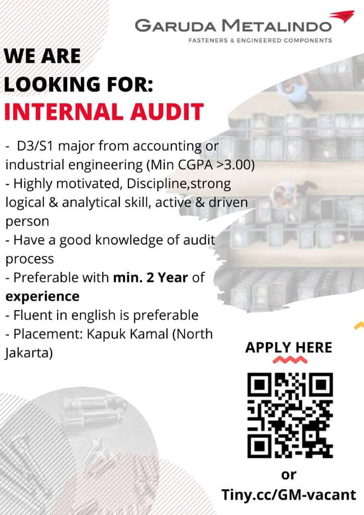 Karir Akuntansi - Internal Audit