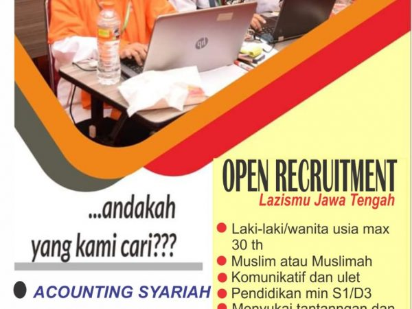 Karir Akuntansi - Accounting Lazismu Jateng