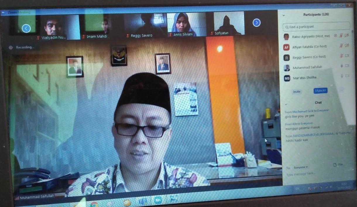 Tingkatkan Motivasi dan Akses Beasiswa Dalam dan Luar Negeri HMJ Akuntansi Syariah FEBI UIN Walisongo adakan Workshop Beasiswa