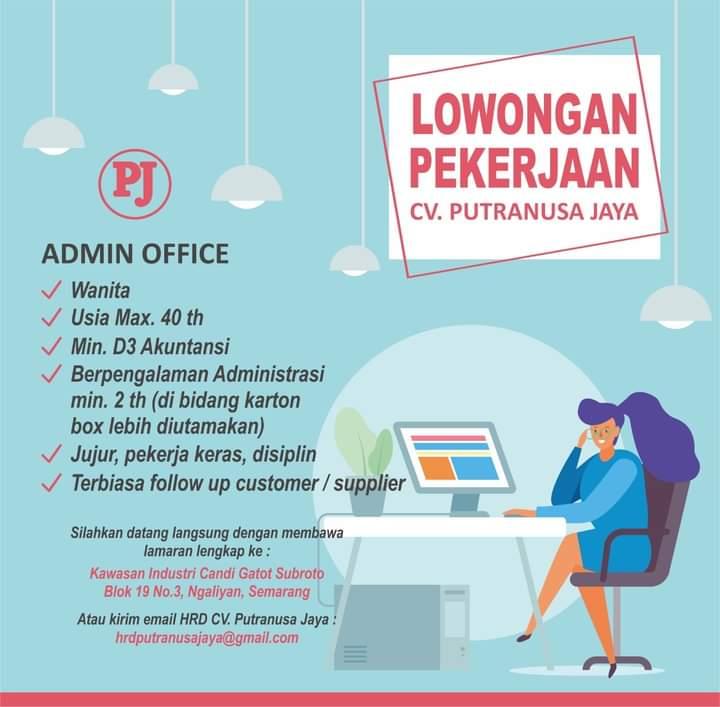 Karir Akuntansi - Adm Putranusa Jaya