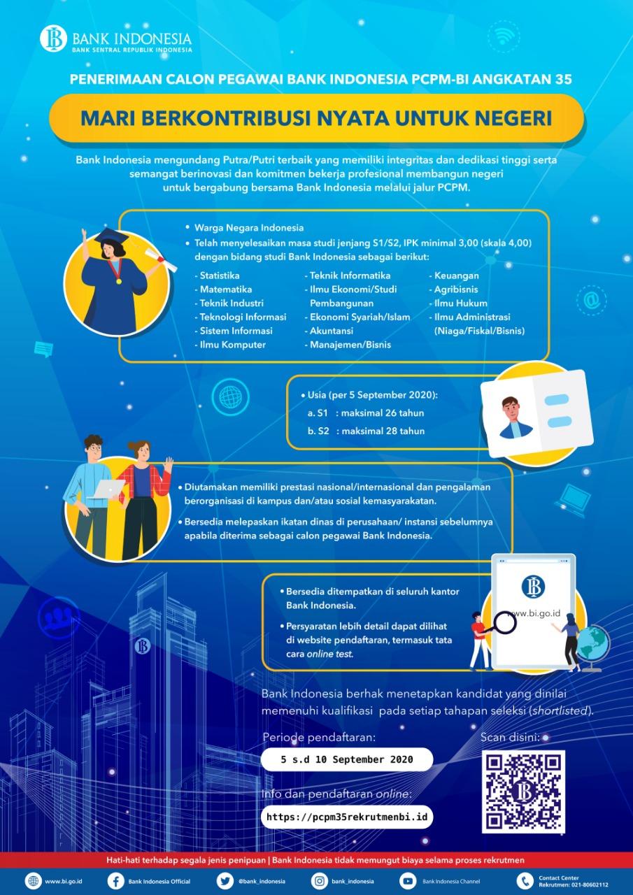 Karir Akuntansi - Bank Indonesia