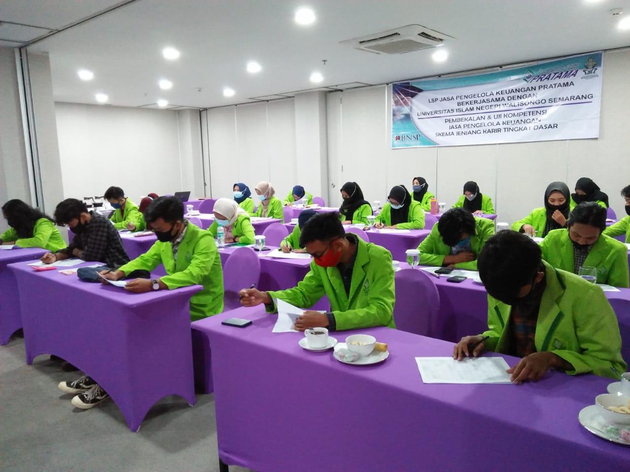 Standarisasi Kualitas Lulusan  Prodi Akuntansi Syariah Melaksanakan Kegiatan Uji Kompetensi Bagi Calon Alumni