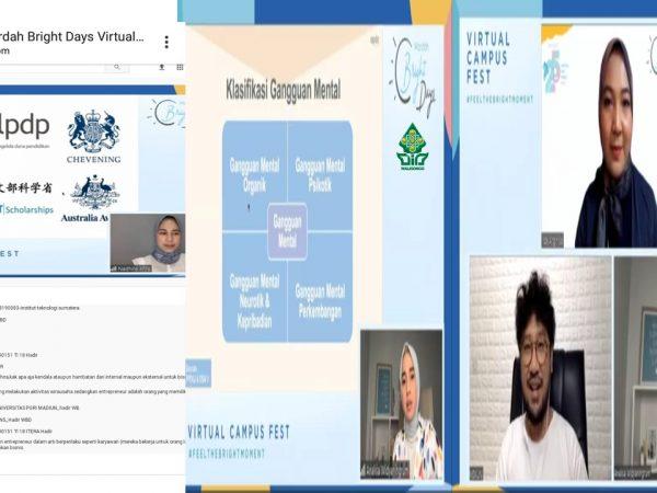 HMJ Manajemen Selenggarakan Kegiatan Wardah Bright Days Virtual Campus Fest 2020