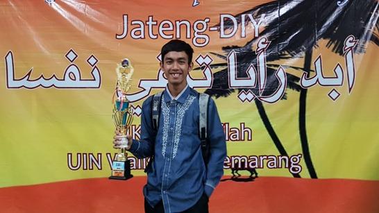 Mahasiswa Jurusan Akuntansi Syariah UIN Walisongo berhasil menyabet Juara 1 Lomba Musabaqoh Qiro'atul Kutub (MQK) tingkat Jawa Tengah (Jateng) – Daerah Istimewa Yogyakarta (DIY)
