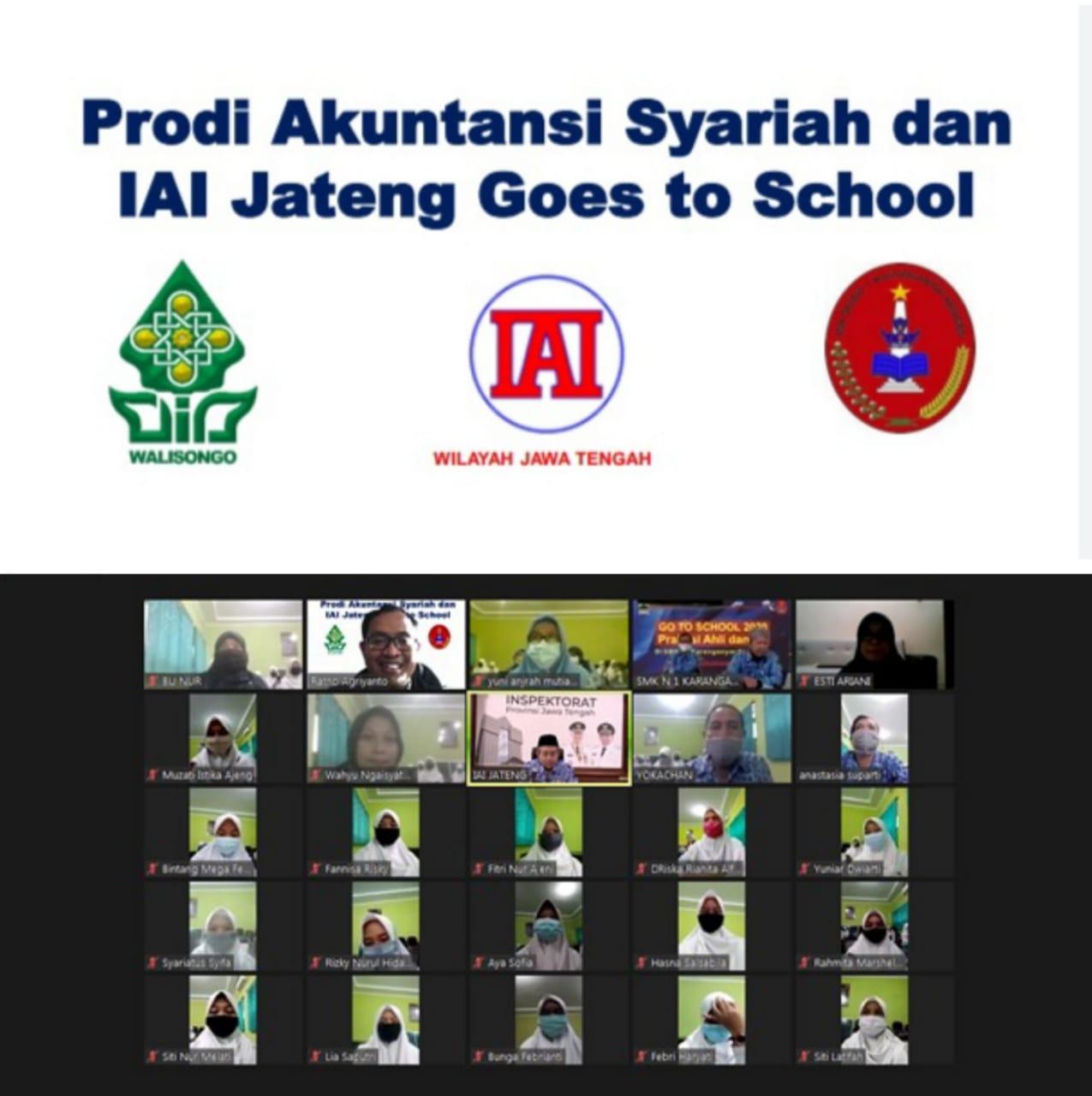 Prodi Akuntansi Syariah Febi Uin Walisongo Dan Ikatan Akuntan Indonesia Goes To School Fakultas Ekonomi Dan Bisnis Islam