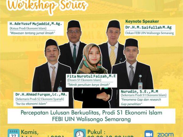 Prodi Ekonomi Islam Selenggarakan Workshop Penyusunan Skripsi Yang  Berkualitas